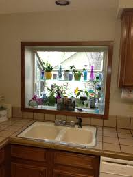 kitchen window lighting. Kitchen Sink Window Curtain Ideas Bay Lighting