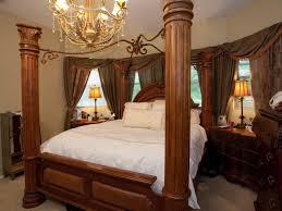 ornate bedroom furniture. This Master Bedroom Has Over-sized, Ornate, Dark Wood Furniture. The Chandelier Ornate Furniture