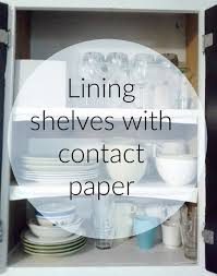 lilly s home designs lining shelves with contact paper