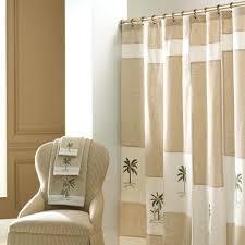 bathroom shower curtains tropical creamy inch curtain f decoration