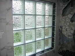installing glass block window individual windows basement in a wood frame opening