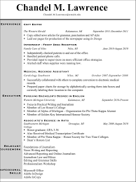 Resume Journalism Resume Template