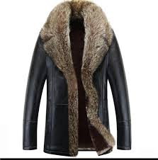 2019 2017 winter leather jacket men thick warm coat outerwear faux fur men s leather jackets and coats er jacket plus size m 5xl from vanilla03