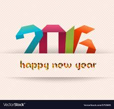 happy new year banner 2016. Plain 2016 Happy New Year 2016 Banner Origami And Geometrical Vector Image For New Year Banner E