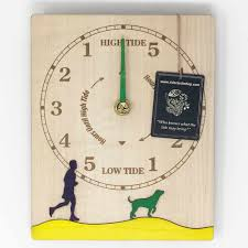 dog walker tide clock