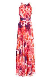 Eliza J Dress Size Chart Floral Print Halter Maxi Dress