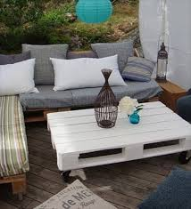 pallets as furniture. Outdoor Furniture ( Sofa ) Made From Pallets As Y