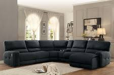 living room ideas with black sectionals. DARK GRAY FABRIC RECLINER RECLINING CHAISE SECTIONAL LIVING ROOM FURNITURE SET Living Room Ideas With Black Sectionals