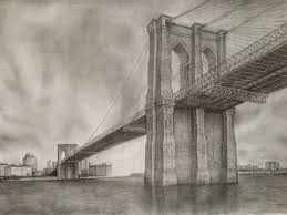 architectural drawings of bridges. Brooklyn Bridge Drawing Architectural Drawings Of Bridges \u2013 Interior Design R