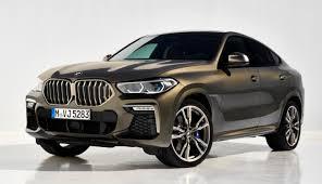Кроссовер BMW X6 нового поколения получил светящуюся ...