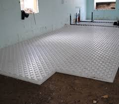 Heated Bathroom Floor Best HydroFoam Radiant Heat Insulation
