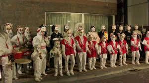 oji inari shrine fox parade