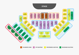 Rays Seating Chart With Rows Thunder From Down Under Seating Chart Australian Bee Gees