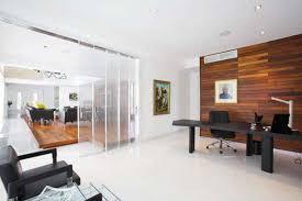 clear office. clear office modern clean workspace ideas white flooring sliding door a