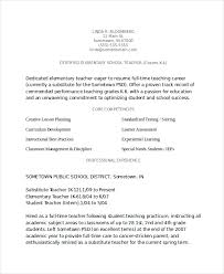 Elementary School Teacher Resume Inspiration Teacher Resume In Word Document