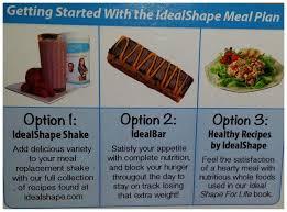 ideal shape plan affiliate shake blue 00