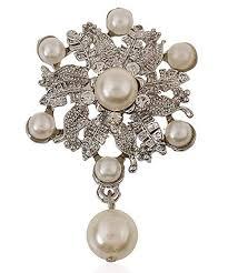 Hosaire 1X Fashion Elegant <b>Diamond</b> Pearl <b>Wreath</b> Wedding Bridal ...