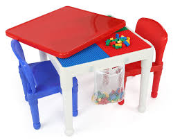 tot tutors 2 in 1 construction table and 2 chairs set