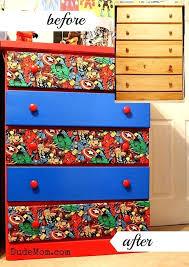 superhero area rug an old dresser into a superhero themed one using marvel comics fabric superhero