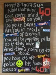 Candy Bar Birthday Card Sayings Candy Bar Poster Ideas With Clever