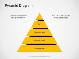 Ppt Pyramid Free Pyramid Diagram For Powerpoint With 5 Levels