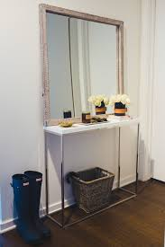 Pottery Barn Mirrored Furniture Pottery Barn Small Spaces Collection The Fox She Chicago