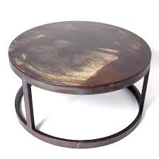 round coffee table industrial metal coffee table industrial metal coffee table black metal industrial coffee table coffee table industrial