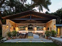 Backyard Kitchen Design