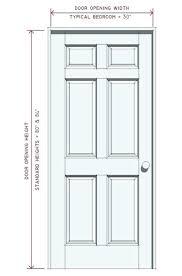 standard bedroom door size typical door height nice standard interior door width interior door dimensions standard