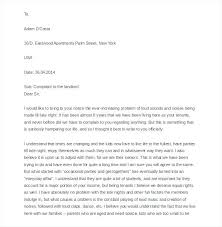 Free Sample Noise Complaint Letter To Apartment Manager