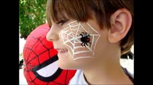 simple face painting designs for boys easy beginners