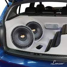 Buy Lanzar 12in Car Subwoofer Speaker - Black Non-Pressed Paper Cone,  Stamped Plastic Basket, Dual 4 Ohm Impedance, 1600 Watt Power - MAXP124D  Online in Hungary. B000E457DM