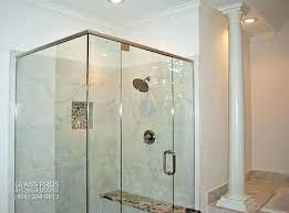 shower door installation cost shower installation