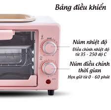 Lò Nướng Bánh Mini Đa Năng Công Suất 800W Rã Đông Nhanh - Lò Nướng Điện - Lò  nướng thùng Thương hiệu OEM