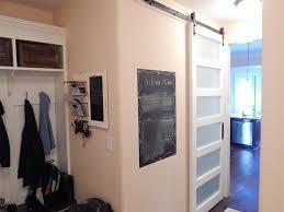 modern 5 panel barn door