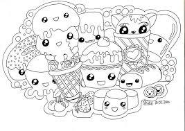 Kawaii Sweets Doodle Doodle For Beginners Kawaii Tekeningen