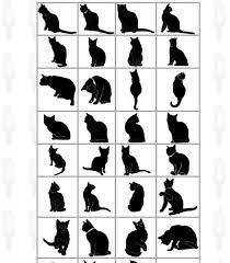 猫の可愛い無料イラスト集おしゃれなシルエットから描き方まで
