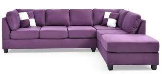 glory furniture malone purple sectional