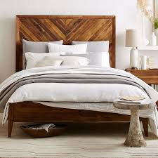 Alexa Reclaimed Wood Bed | west elm