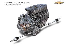 2016 chevrolet bu hybrid comes to new york estimated at 45 mpg 2016 chevrolet bu hybrid engine and drive unit 2 4