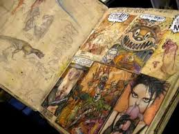 Art coursework presentation ideas A level  A   Art exam sketchbook   A   full marks