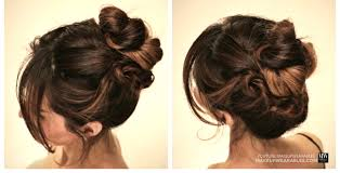 3 minute twisted updo for wedding prom cal hairstyles updos tutorial