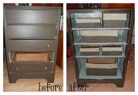 dresser into shoe organizer diy repurpose