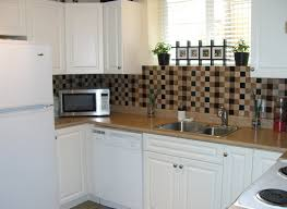 Temporary Kitchen Flooring The Social Home Diy Renters Backsplash With Vinyl Tile