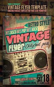 Free Flyer Layout 15 Stylish Vintage Flyer Templates Psd Free Premium