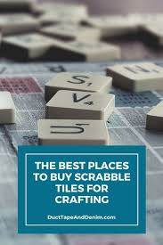 The Best Places for You to Buy Scrabble Tiles in 2020 | Scrabble tiles,  Scrabble crafts, Tiles