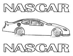 Small Picture nascar 38 super fast car coloring to print at yescoloring daisy