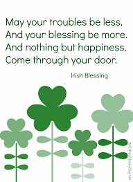 Irish Blessing Quotes Fascinating St Patrick's Day Quote Project Inspired 48 An Extraordinary Day
