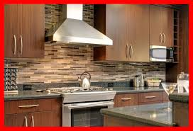 Amazing Dark Cabinets With Granite Also Stained Modern Kitchen