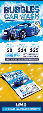 Free Car Wash Flyers Designs Auto Detailing Graphics Designs Templates From Graphicriver